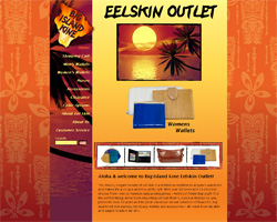 Big Island Kine: Eel Skin Outlet