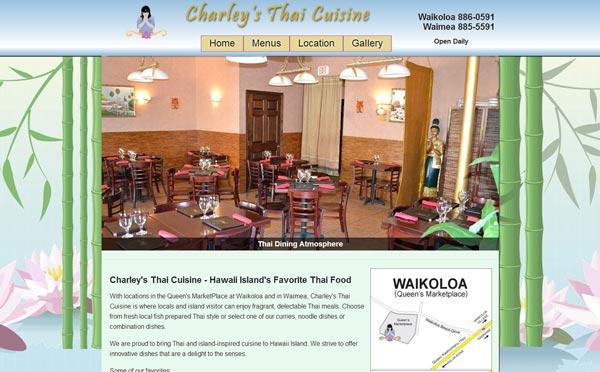 Charley's Thai Cuisine - Waikoloa & Waimea