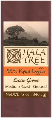 Hala Tree Coffe Bag Label