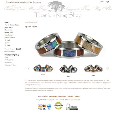 E-commerce website online store