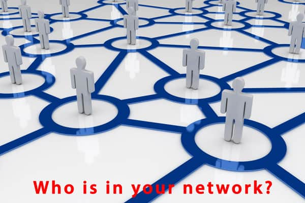 who is in your network?
