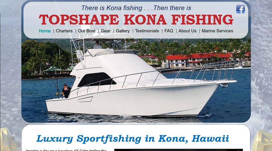Topshape kona website