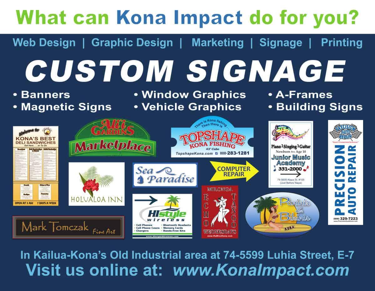 Kona Impact Postcard