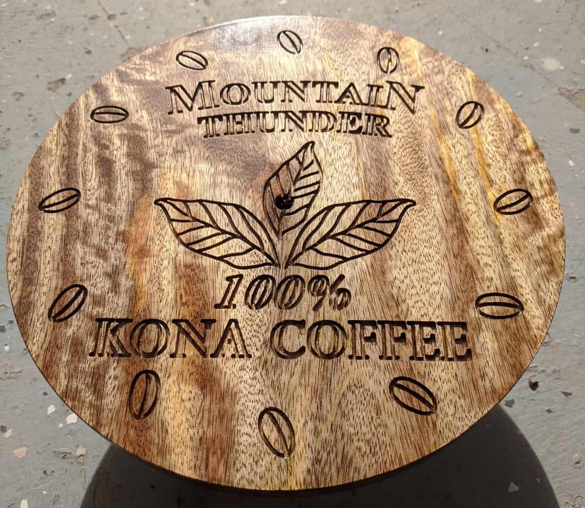 Wood Clock CNC